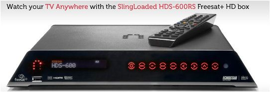 ECHOSTAR SlingLoaded� PVR Freesat Plus 500GB