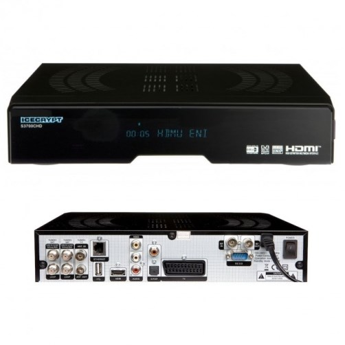 ICECRYPT S3700CHD Digital Satellite HD Receiver