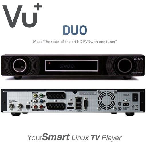 VU+ Duo HD Linux Satellite Receiver DVB-S2 Twin Tuner