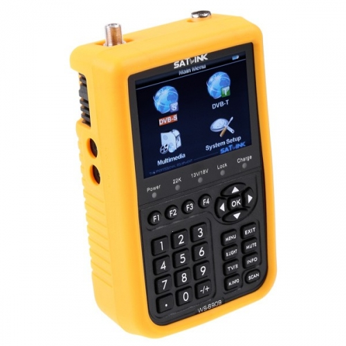 SatLink WS6909 LCD Satellite And Aerial Combo Meter